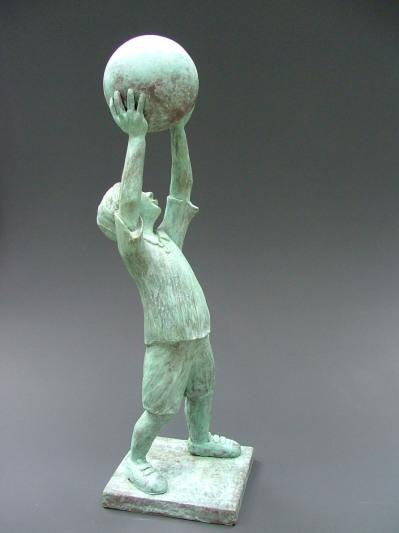 gamin a la balle